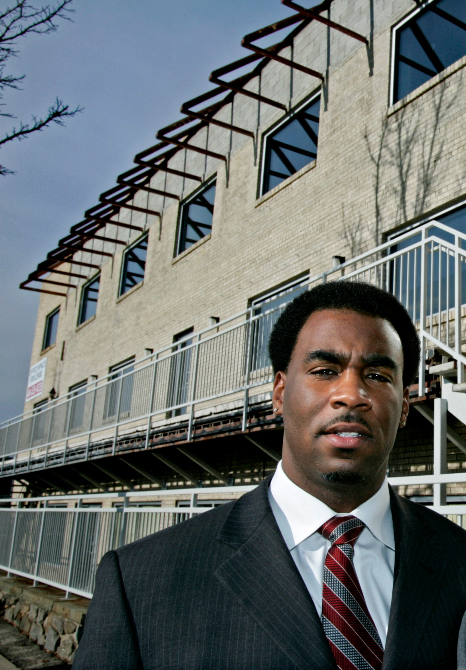 Kalan Haywood Sr., shown here in 2005, started his first real estate development company, Vanguard Group, in 2000.