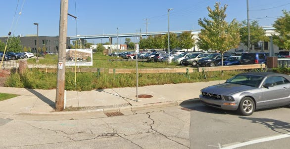 A new events venue is planned for a vacant lot at 100 N. Jefferson St. in the Historic Third Ward.