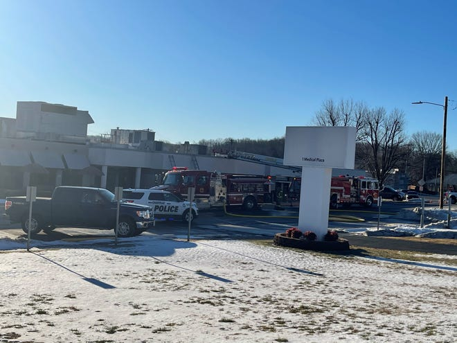 Crews responded to a fire Monday morning at Mercy Hospital Cassville.