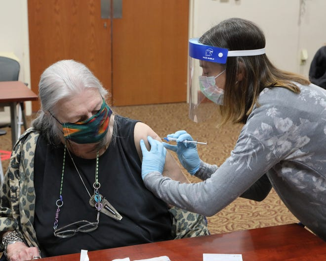 Augusta Health, in partnership with Central Shenandoah Health District, is conducting offsite vaccination clinics for the medically vulnerable and individuals with mobility issues.