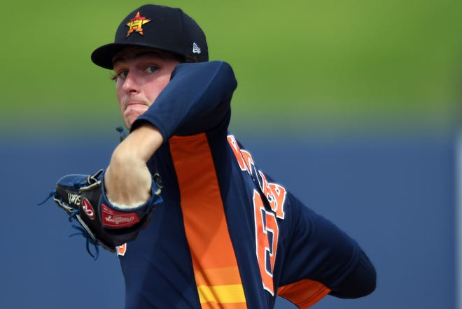 Forrest Whitley has 289 strikeouts in 197 minor league innings.