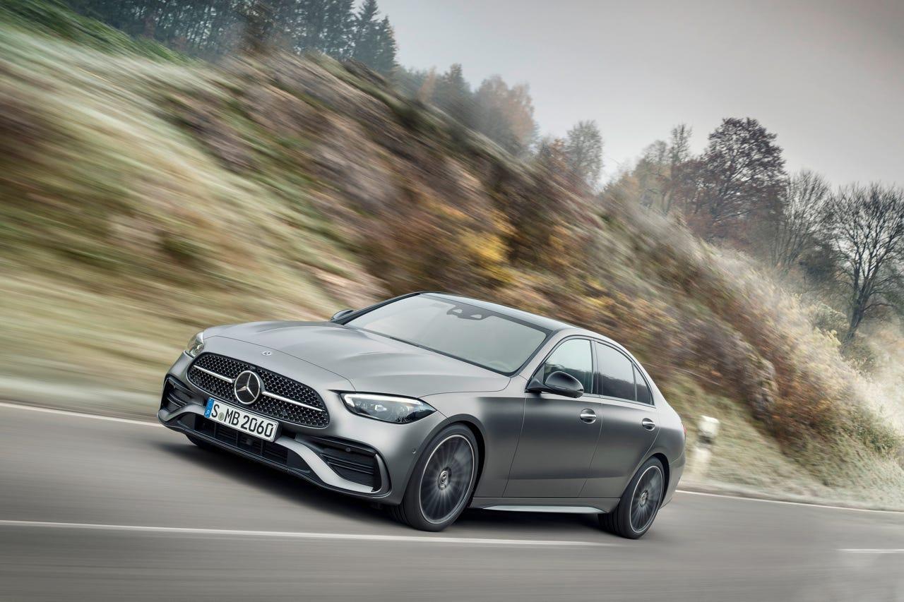 2022 Mercedes-Benz C-Class photos: See redesigned sedan