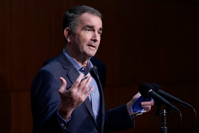 Virginia Gov. Ralph Northam announces more jobs coming to Staunton. A local textile-based engineering firm will expand.