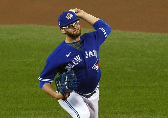 Anthony Kay has made 16 appearances for the Blue Jays the past two seasons.