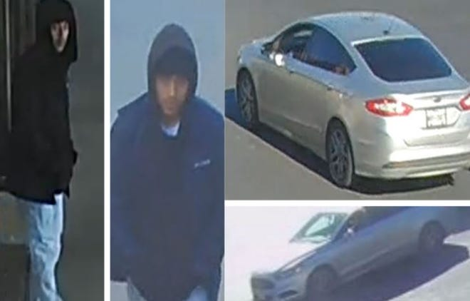 Austin police on Tuesday said the man, pictured above, is accused of trying to rob a woman who is in her 60s near an East Austin shopping center.