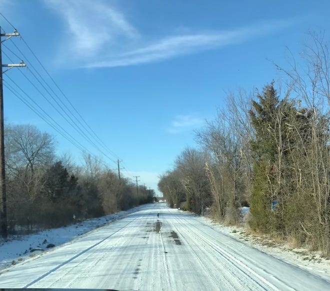 Winter weather may have looked pretty, but it wreaked havoc on the Anna water supply.