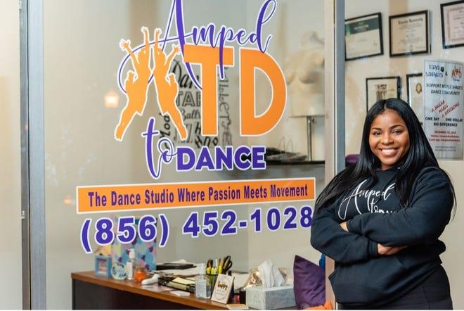Owner Dana Randolph outside her Maple Shade dance studio.