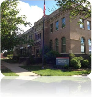 Ericson Public Library in Boone.