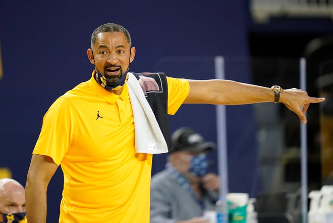 """Former """"Fab Five"""" member and current coach Juwan Howard has Michigan heading in the right direction on the basketball court, at least."""