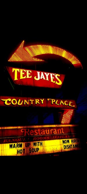 Paul Da Silva hopes that the sign remains after the Tee Jaye's at North High Street and Morse Road closes in May.