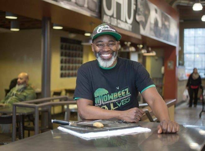Carnell Willoughby, chef and co-owner of Willowbeez SoulVeg