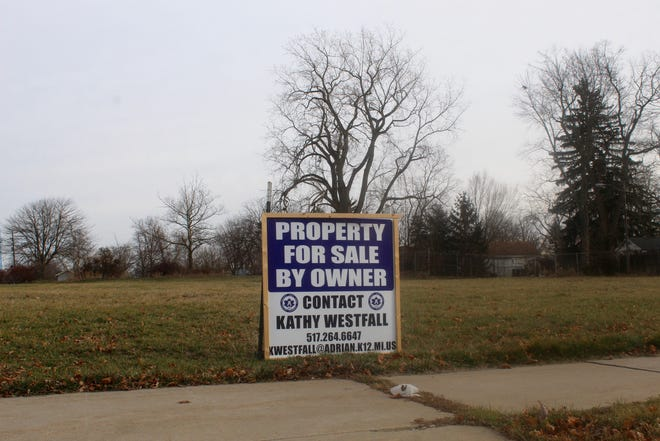 The former McKinley Elementary School property at 726 Elm St. is pictured Dec. 15, 2020. The property will remain in the hands of Adrian Public Schools after no interested buyers stepped forward.