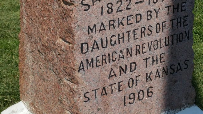The DAR marker in the Ingalls city park on Main Street is this week's highlighted commemoration site.