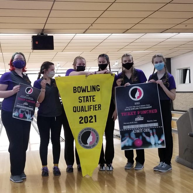 The Waukee girls bowling team earned a repeat trip to the state meet after winning the district crown in Sioux City.