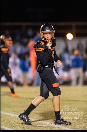 Gavin Hill, a varsity football and baseball player at North Davidson High School, learned last week that the cancer he fought and beat as a 12-year-old has returned. Hill said he will face this second battle like he did the first time - with faith and a positive attitude.