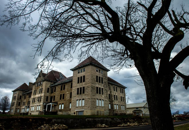 The Bowen Building, on the former Peoria State Hospital grounds, is seen in this Dec. 14, 2015, file photo.