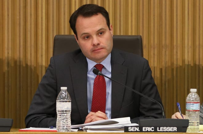 "State Sen. Eric Lesser said legalizing sports gambling can bring in ""meaningful, but not game-changing"" revenue to Massachusetts."