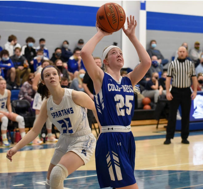 Senior Emma Wilson was the hardest worker for the Colo-NESCO girls' basketball team in 2020-2021 according to head coach Wayne Cafferty. Wilson helped the Royals post a winning 11-9 record in a rebuilding year.