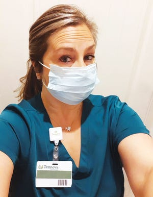 Krista Tillman, 46, is currently an emergency department technician at Tennova Healthcare's North Knoxville Medical Center.