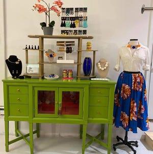 Norah's Boutique display in Petersburg, Va.