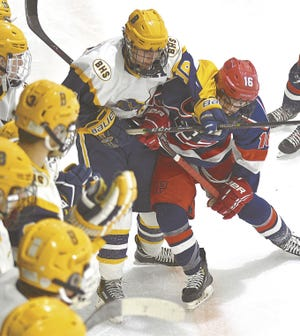 Two years ago the Barrington boys hockey team played tough and won the Division II title. This year, they won't get a chance to compete for the D-I crown after the school was notified a player the Eagles faced over the weekend tested positive for COVID-19. Deemed a close contact, Barrington pulled the team from the postseason Tuesday morning.