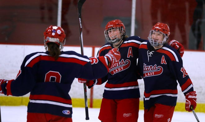 The Warwick Co-op girls hockey team hoped to have some fun moments this postseason. Thanks to unfortunate circumstances, the Titans had to opt out of the playoffs because of COVID concerns.