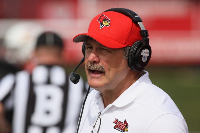 Illinois State head football coach, and a former East star football player, Brock Spack is hoping to have his Redbirds ready for their season opener, which was pushed back to this Saturday.