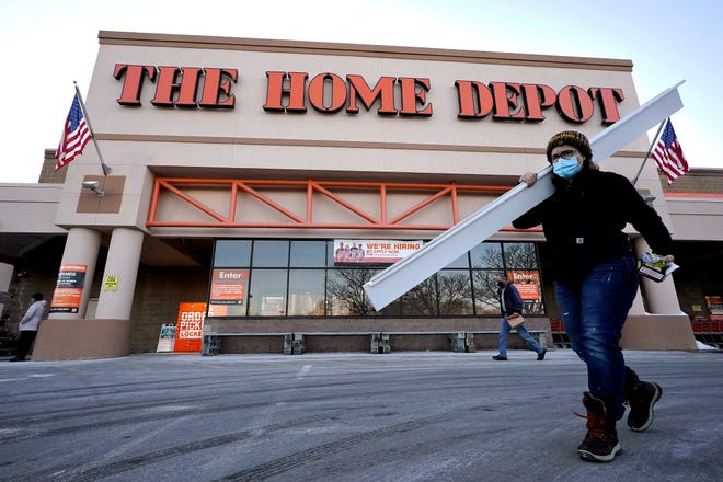 Home Depot sales grew even stronger in the final quarter of the year as the housing market was among the few bright spots for the U.S. economy in the year of the lockdown.