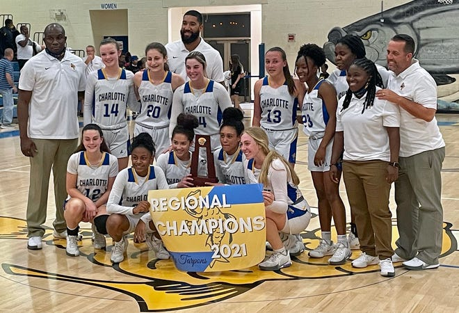 The Charlotte High girls basketball team is going to the Final 4 for the first time in program history.