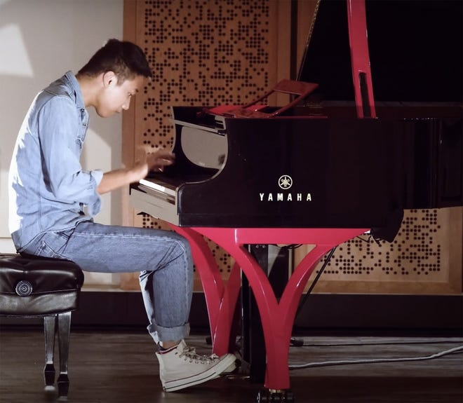 """Young pianist Steven Lin is featured in the latest """"La Musica at Home"""" video series with a program about his life and music."""