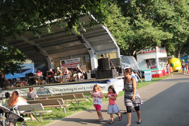 A scene from the 2017 Siskiyou Golden Fair in Yreka.