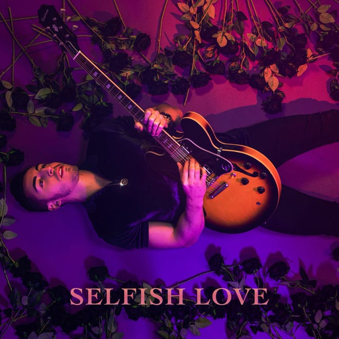 """The cover to Ricky Duran's new single, 'Selfish Love."""""""
