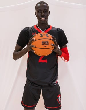 The Burlington School's Kuluel Mading is the top unsigned senior in North Carolina's class of 2021, according to 247Sports composite rankings.