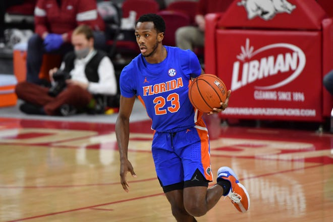 Florida's Scottie Lewis is drafted Thursday in second round.