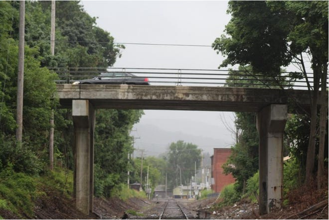 The Madison Street bridge over the Western NY & Pennsylvania Railroad will be torn down and replaced during the 2021 construction season.