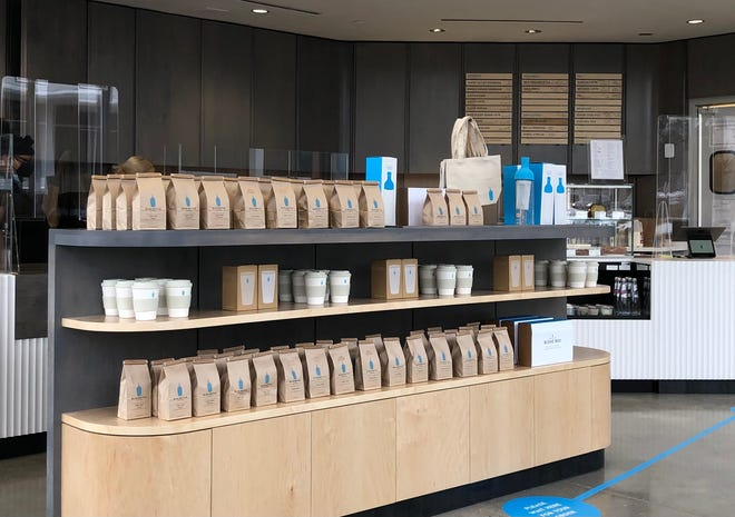 The Street Chestnut Hill recently announced the arrival of specialty coffee brand Blue Bottle Coffee, 33 Boylston St., Chestnut Hill.