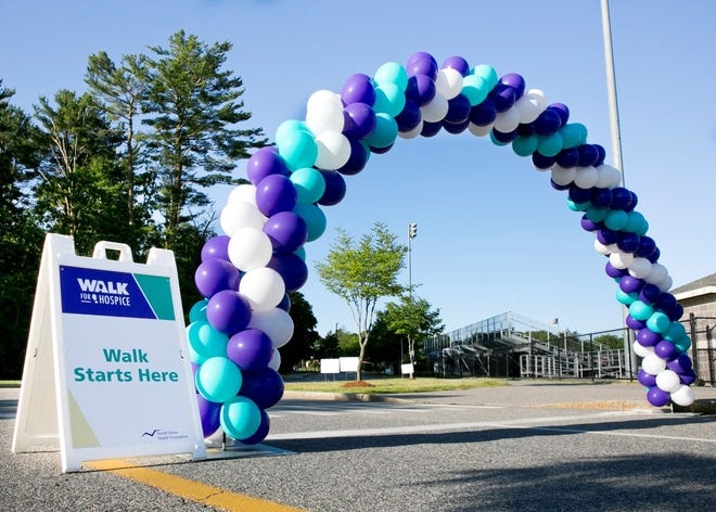 South Shore Health's Walk for Hospice will be held from 7 to 10 a.m. June 12, starting at Weymouth High School, 1 Wildcat Way, South Weymouth.