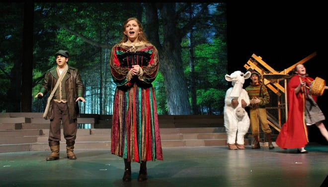 """For one reason or another, Grimm Brothers characters are forced to venture """"Into the Woods"""" in Hardin-Simmons University's musical-drama, which opens Friday."""