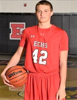 Senior Logan Rohrbacher averages 20.9 points, 7.0 rebounds and 3.7 assists per game for East Central. His teammate Luke Collinsworth,  who has signed to play football at UC, averages 16.4 points and 7.7 rebounds.