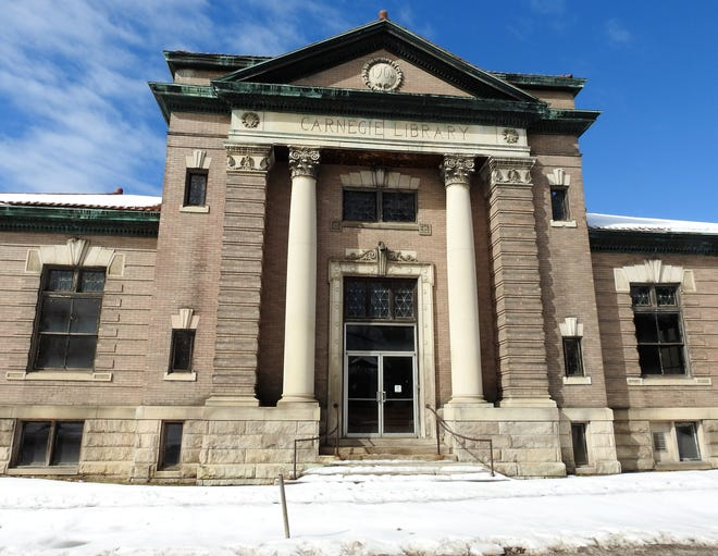 The Carnegie Library building has been vacant for more than 50 years. Mayor Mark Mill would like to see Our Town Coshocton take possession of the building and turn it into a history museum.