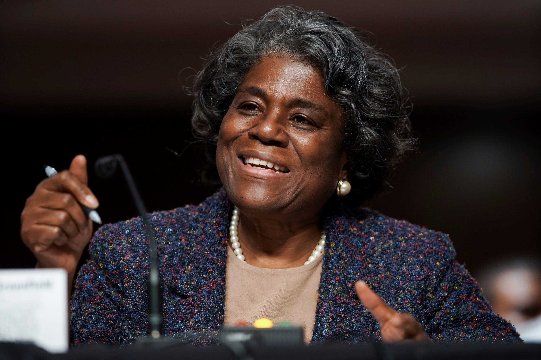 Linda Thomas-Greenfield approved as Biden's UN ambassador 2