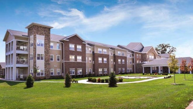 A rendering of an assisted living facility that would stand at the proposed Hurstbourne Commons subdivision in Louisville. Feb. 22, 2021