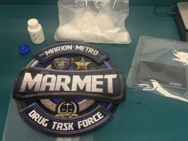 While executing a search warrant on a residence in Marion, MARMET detectives discovered and seized 391 grams of fentanyl and 51 grams of cocaine.
