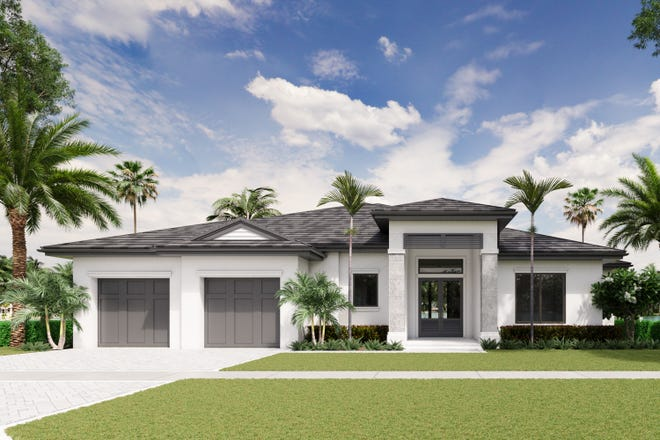 Divco Custom Homes' Spring Lake, located in the single-family community of Montebello in Naples, will be the first of four models to be completed this year.