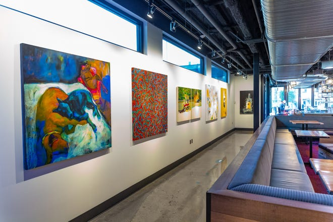 Artlink's  21st Annual Juried Exhibition at FOUND:RE Contemporary art gallery features the work of 85 Arizona artists.