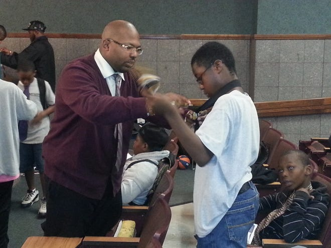 """""""It hits harder when it's coming from home,""""said N. Bryan Massey, founder of Educated THUG, an organization launched in Rochester to get young men out of gang culture."""