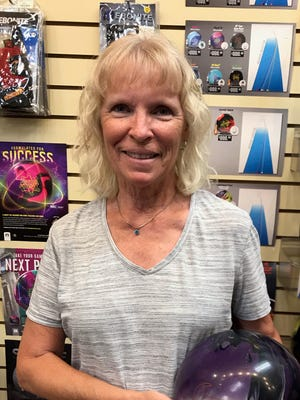 Cheryl Rogers bowled her first-ever 600 series last week, a 629 on games of 225, 214 and 190 at Virgin River Bowling Center in Mesquite.