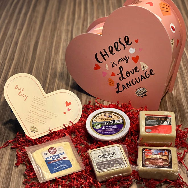 "Dairy Farmers of Wisconsin says their ""For the Love of Cheese"" Valentine's Day campaign was a huge success on social media."