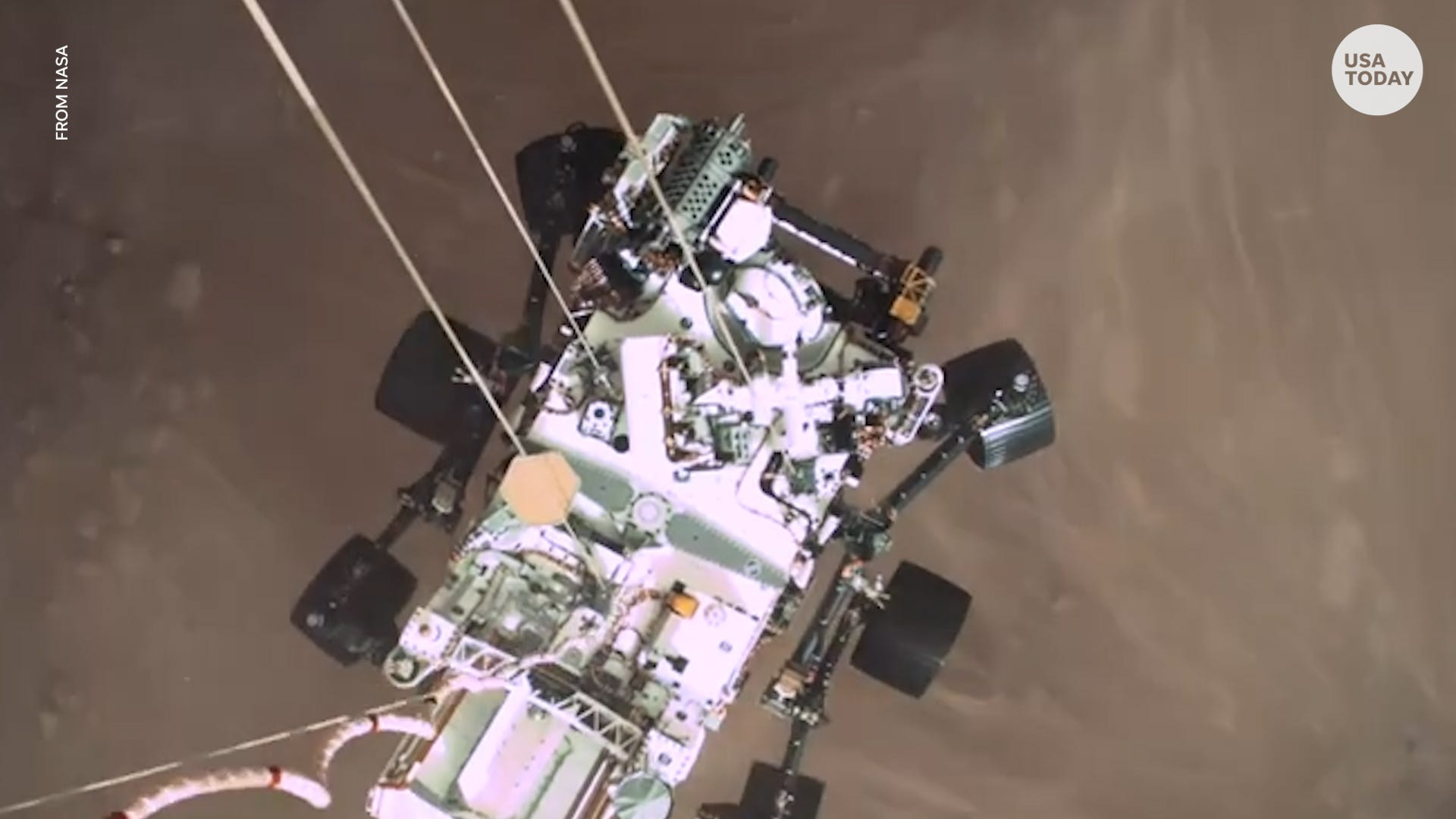 Mars rover captures the first recorded sounds from the planet, including the Martian breeze