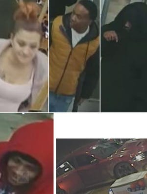 Austin police on Wednesday said they are looking for four people involved in an aggravated assault that occurred at a downtown Austin gas station over the weekend.